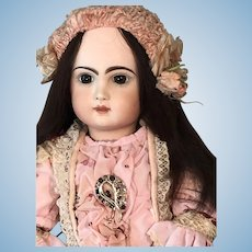 Tête Jumeau Closed Mouth Pressed Bisque Doll size 70 Cm