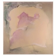 LISTED ARTIST W. Scott Wilson (American) Abstract Painting — Watercolor on Illustration Board