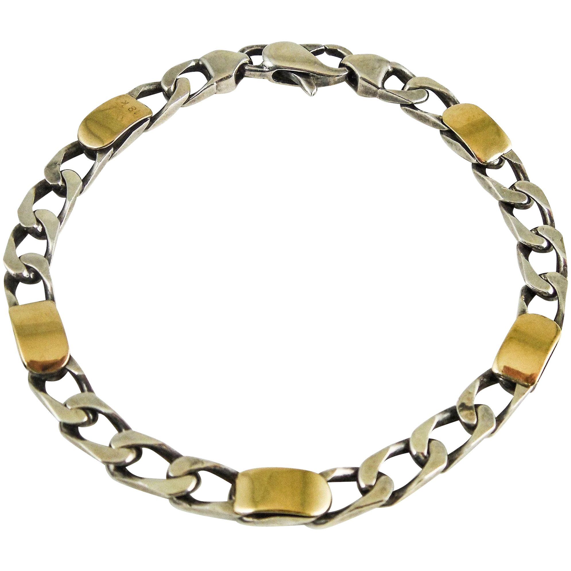 Co 18k Gold 925 Sterling Silver