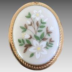 Lenox Porcelain Pin / Pendant