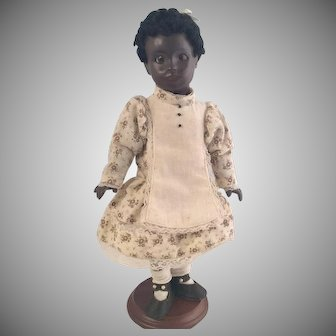 "All bisque Artist Doll~ Black child~ 11.5"" ~Darling~"