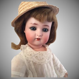 16 Inch~ K*R  S&H~ Beautiful Antique bisque head German doll~