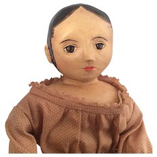 "Izannah Walker~ Cloth Artist Doll ~ Shirley White~ 12 "" - Red Tag Sale Item"