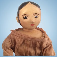 "Izannah Walker~ Cloth Artist Doll ~ Shirley White~ 12 """