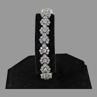 Fabulous Diamond Bracelet, 6 ctw, 14 Kt WG