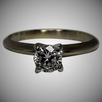 Diamond Solitaire, .5 ctw, 14 Kt WG