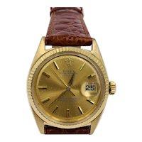 Vintage Rolex 18k gold 1601 Ref 36mm men's watch