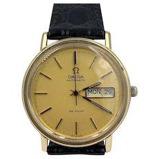 Vintage Omega De Ville Automatic 23 J Cal. 1022 Day Date Men's Large Watch