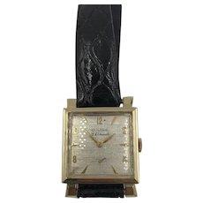 Vintage Bulova 14K yellow Gold 23 Jewels Men's Watch