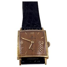 Rare Hamilton Sherwood Wood Dial Watch 22j manuel wind gold filled