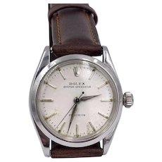 Vintage Rolex Oyster Speedking Precision Manuel wind mens Watch midsize
