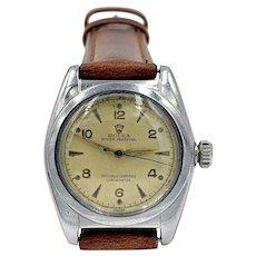 1940's Vintage ROLEX 2940 Bubble Back Stainless Men's Watch - Automatic