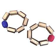 Chic Brass Bracelets