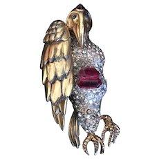 Reja Vulture/Buzzard Pin