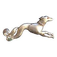 Dog on the Run Pin