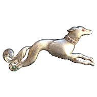 Dog on the Run Pin