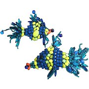 The Show Must Go On Tropical Fish Pin Set