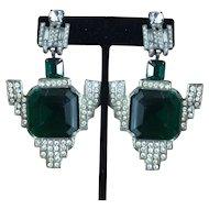 Art Deco Drop Dead Gorgeous Earrings