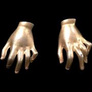 Golden Left Handed Fur Clips