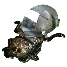 Itty-Bitty Jelly Belly Beetle Bug Fur Clip