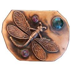 Dragonfly Sash Pin