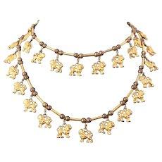 """DeLillo Lion 36"""" Necklace"""
