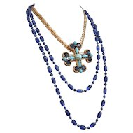 Magnificent Maltese Cross Necklace Creation