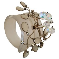 Couture Runway Ready Lucite Bracelet
