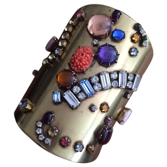 Artisan Cuff with Vintage Stones