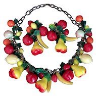 Anka Fruit Salad Necklace & Earrings