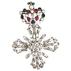 Schreiner Crown with Maltese Cross Pin