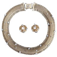 Hattie Carnegie Necklace and Earring Set