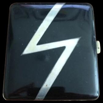 Art Deco Zigzag Cigarette Case
