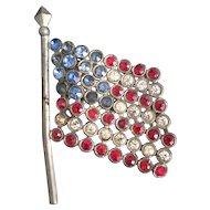 Vintage American Flag Pin