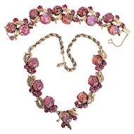 Schiaparelli Pretty in Pink Parure