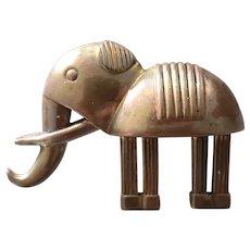 Art Deco Elephant Pin