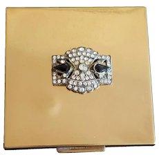 Shields Gorgeous Art Deco Compact