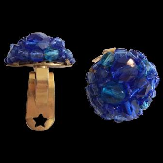 Coppolo e Toppa Blue Beaded Earrings