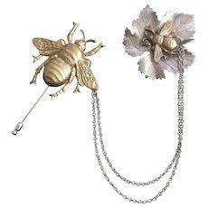Joseff Bee Chatelaine Pin