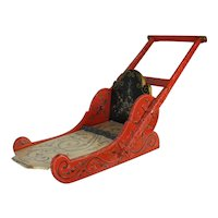 Dutch Painted Sled
