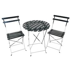 Garden/Bistro Table and Chairs Set/3