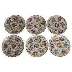 Porcelain Dessert Plates/Set of Six