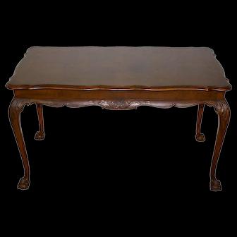 French Walnut Louis XV Coffee Table