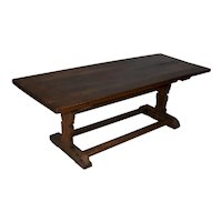Rectangular Rustic Oak Coffee Table