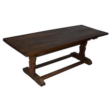 Rectangular Rustic Oak Coffee Table
