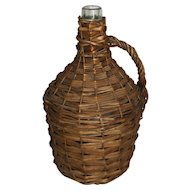 Wicker Demijohn Wine Bottle (Small)