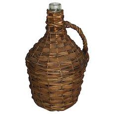 Wicker Demijohn Wine Bottle (Small)
