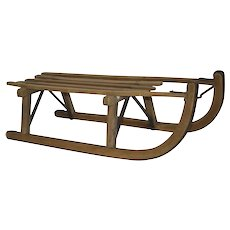 Davos Wooden Sled