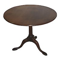 American Colonial Tilt-Top Table