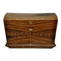 Grain Painted Domed Trunk